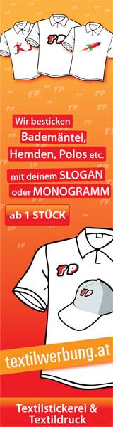 Textildruck und Stickerei Wien